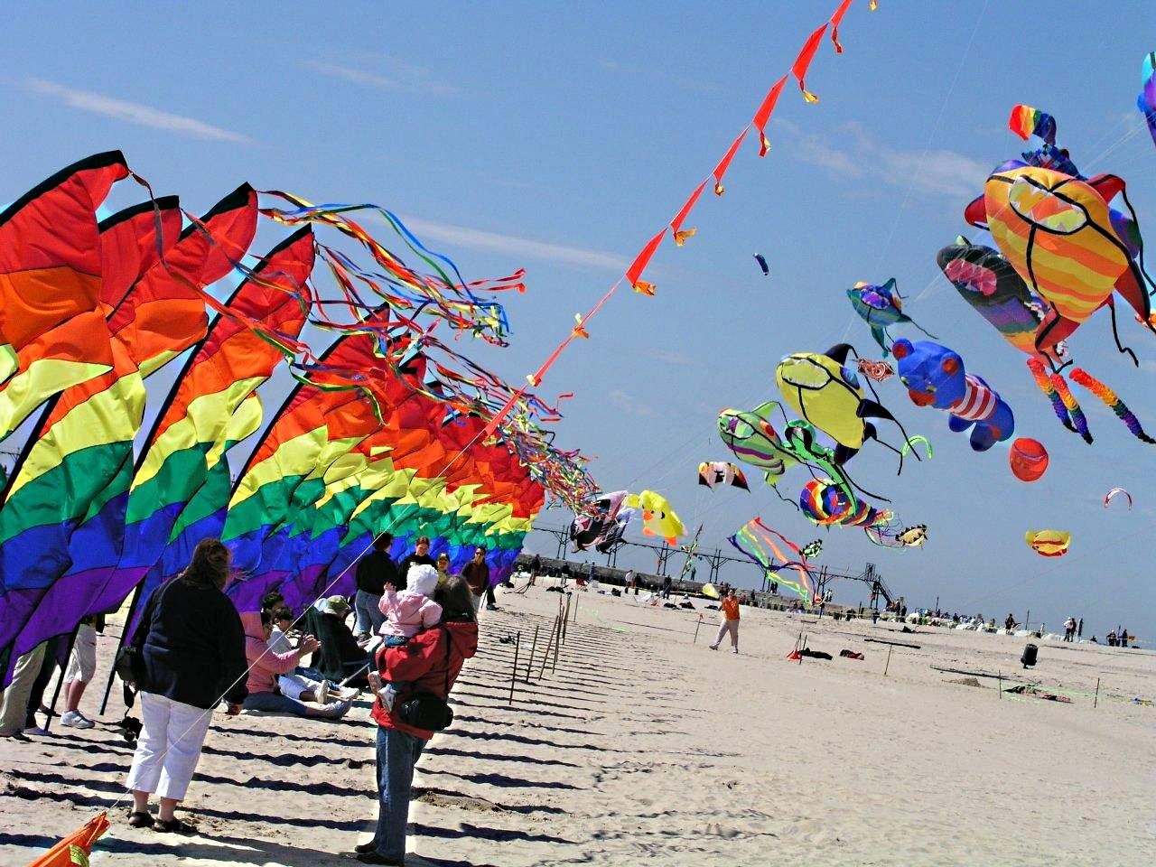 Grand Haven Kite Festival... photo by Thomas Peace 2013
