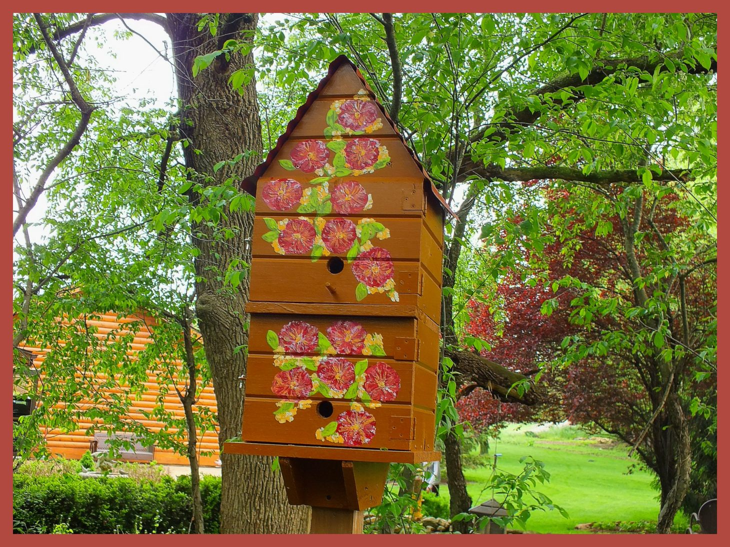 Birdhouse (3... At sister-in-law Mary's place). Photo by Thomas Peace c. 2015