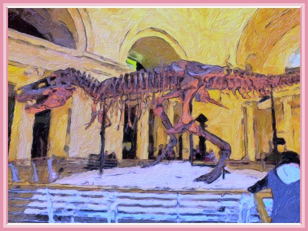 Tyrannosaurus rex at the museum (2) Photo by Thomas Peace c. 2017
